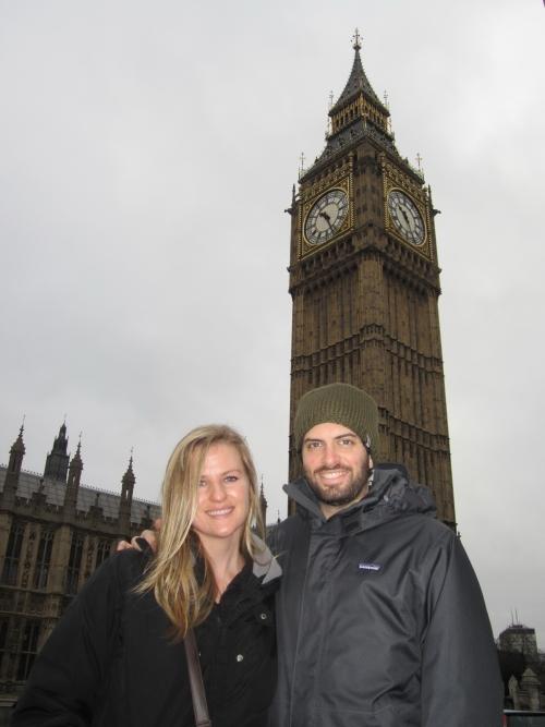 Liz, Jonathan and Big Ben